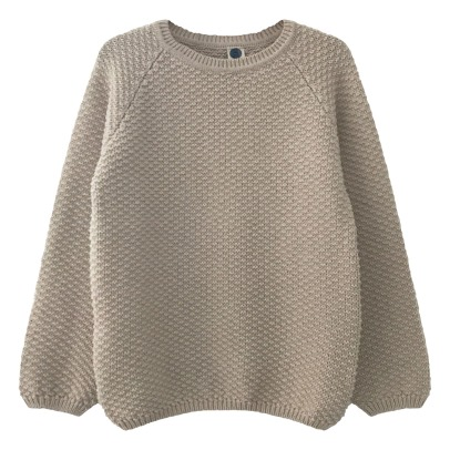 Le Petit Germain Armel Cotton and Merino Wool Jumper-listing