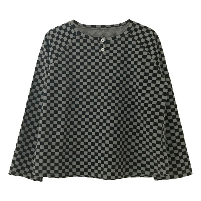 Le Petit Germain Floo Checkered T-shirt -listing