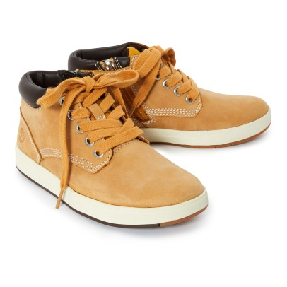 Timberland Baskets Basses Suede Davis Square-listing