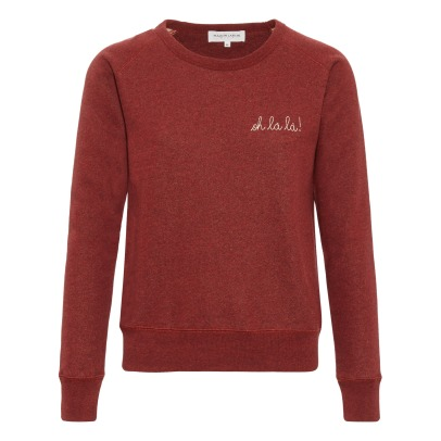 "Maison Labiche ""Crazy in Love"" Embroidered Sweatshirt - Women's Collection -listing"