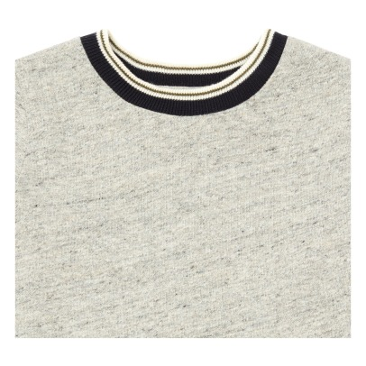 Bellerose Manu Ribbed Collar T-shirt-listing
