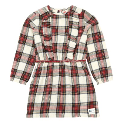 AO76 Minot Checkered Dress -listing