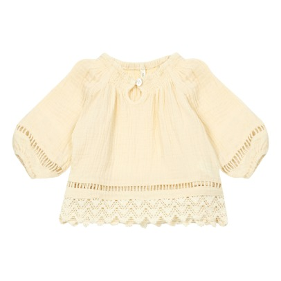 Rylee + Cru Quincy Lace Blouse -product