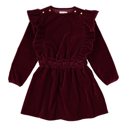 Louis Louise Loulou Velvet Dress -listing