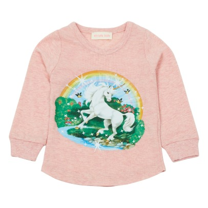 Simple Kids Unicorn T-shirt-listing