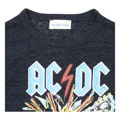 Simple Kids ACDC T-shirt -listing