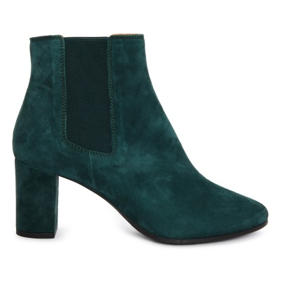 Rivecour 276 Velvet and Leather Boots -listing