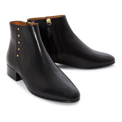 Rivecour 136 Leather Ankle Boots -listing