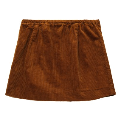 Bellerose Armel Ribbed Velvet Skirt-product