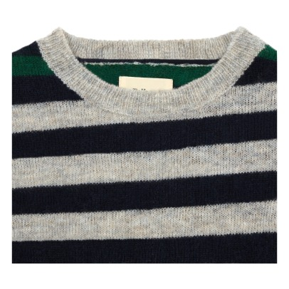 Bellerose Dimbo Striped Alpaca Wool Jumper-listing