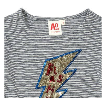 AO76 T-shirt Flash Sequins-listing