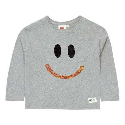 AO76 Smile Sequined T-shirt -listing