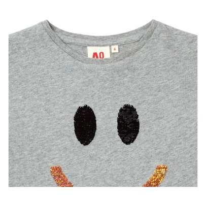 AO76 T-shirt Smile Sequins-listing