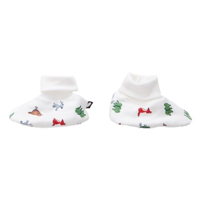 Oeuf NYC Babyschuhe aus Pima-Baumwolle Tiere-listing