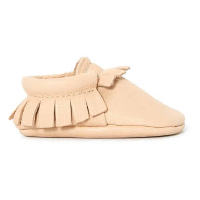 Amy & Ivor Leather Slippers -listing