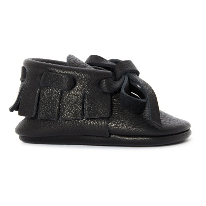 Amy & Ivor Chaussons Cuir Moccassins-listing