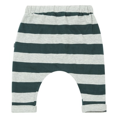 Imps & Elfs Organic Cotton Striped Jogging Bottoms -listing