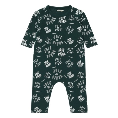 Imps & Elfs All Over Organic Cotton Romper -listing