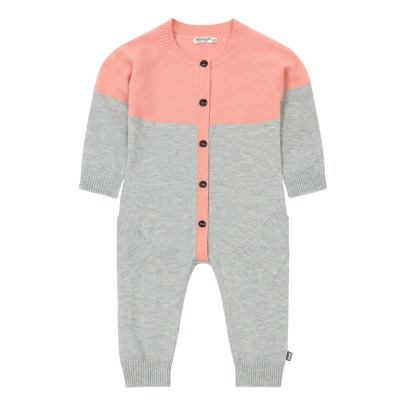 Imps & Elfs Two-tone Buttoned Romper-listing