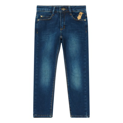 Imps & Elfs Jeans Six pockets Tapered Fit Denim-listing