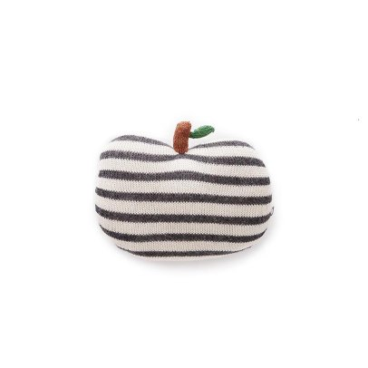 Oeuf NYC Petit coussin pomme à rayures-product