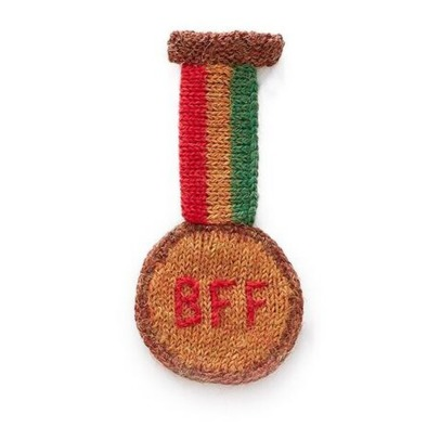 Oeuf NYC BFF Medal Brooch-listing