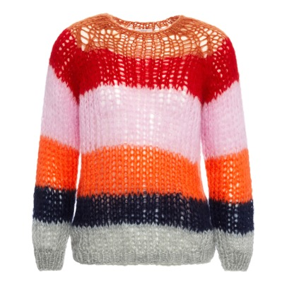 Maiami Mohair Striped Jumper -listing