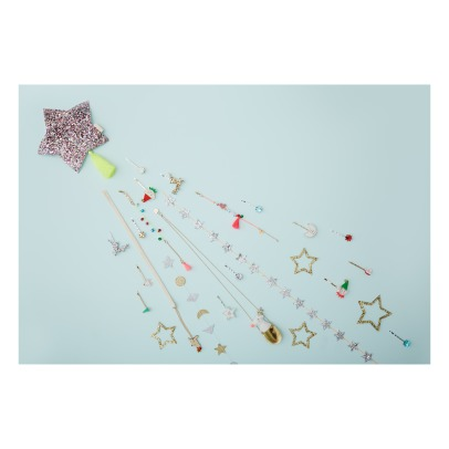 Meri Meri Moon and Stars Hair Slides -listing