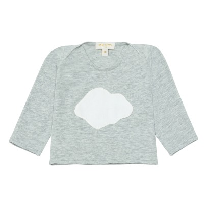 Moon Paris T-Shirt Nuage Blanc-listing