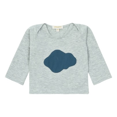 Moon Paris T-Shirt Nuage Bleu-listing