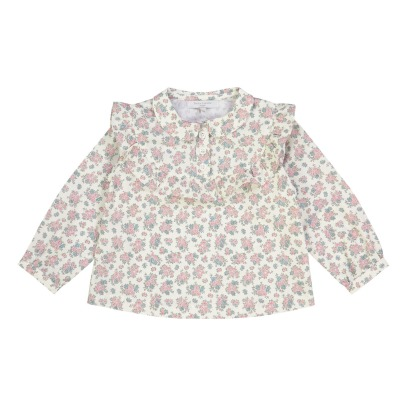 Petite Lucette Bluse Blumenmuster Florence-listing