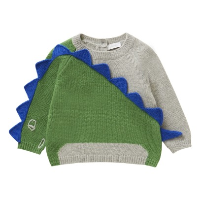 Il Gufo Pullover Dinosaurier-listing