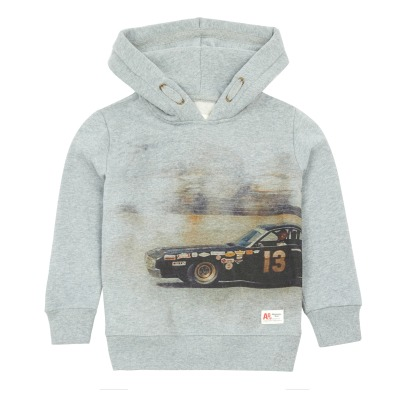 AO76 Sweat Capuche Voiture-listing