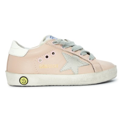 Golden Goose Deluxe Brand Superstar Faux Fur Sequined Trainers -listing