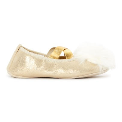 Bonpoint Mimi Split Leather Slippers -listing