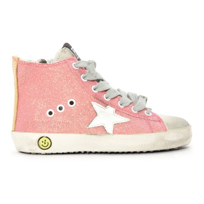Golden Goose Deluxe Brand Francy Sequined Leopard Trainers -listing