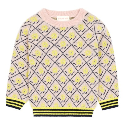 Simple Kids Madonna Jacquard Jumper -listing