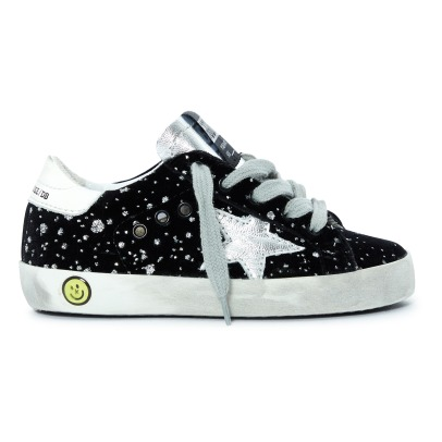 Golden Goose Deluxe Brand Baskets Lacets Strass Superstar-listing