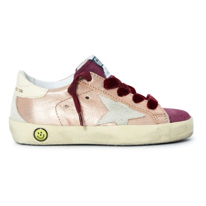 Golden Goose Deluxe Brand Superstar Embellished Trainers -listing