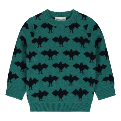 Simple Kids Bats Jumper -listing