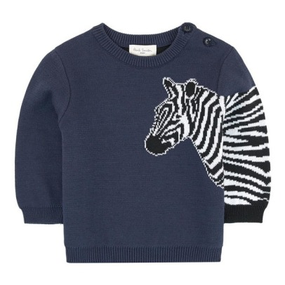 Paul Smith Junior Wollpullover Zebra Smile -listing