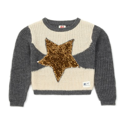 AO76 Stars Sequined Jumper -listing