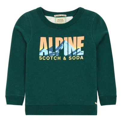 Scotch & Soda Sweat Alpine Moucheté-listing