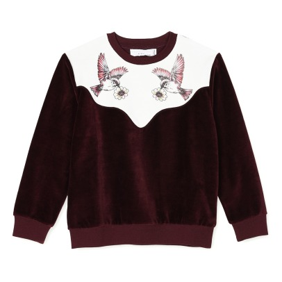 Stella McCartney Kids Moon Velvet Sweatshirt-listing