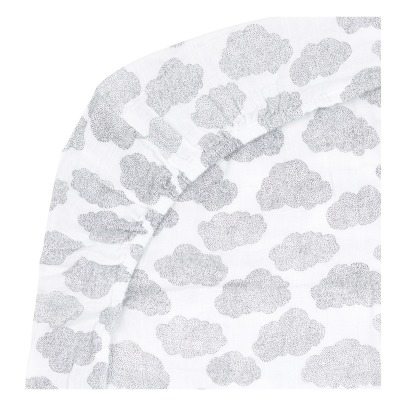 Moumout Printed Cotton Changing Mat Cover -listing