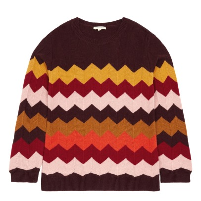 Hundred Pieces Zig Zag Jumper-listing
