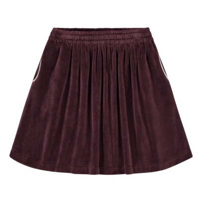Hundred Pieces Velvet Skirt-product