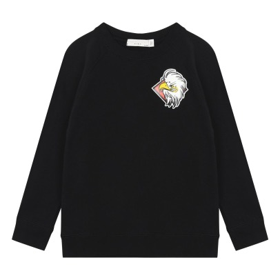 Stella McCartney Kids Sweat Molleton Coton Bio Aigle Billy-listing